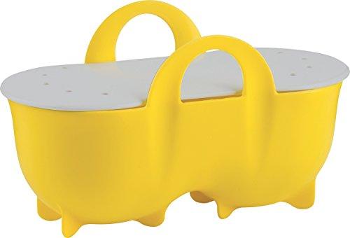 Trudeau Microwave Double Egg Poacher - Yellow