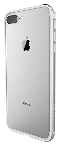 best sneakers 90604 a049a iPhone 7 Plus Case, X-Doria Defense Edge Series - Anodized Aluminum and TPU  Frame, Bumper Case for Apple iPhone 7 Plus, [Silver]