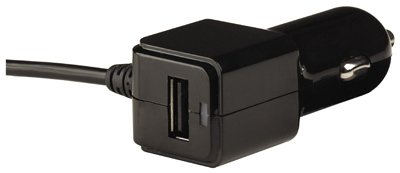 Audiovox AHC732BZ DC USB Car Charger, Black - Quantity -