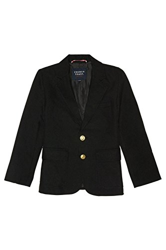 French Toast Big Boys' School Blazer, Black, 8 by French Toast (Image #2)