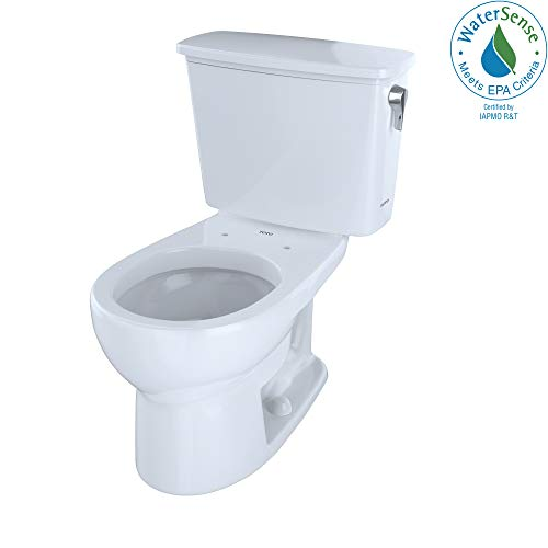 Cotton Tank Drake 01 - TOTO CST743ERN#01 Eco Drake Transitional Toilet Right-Hand Trip Lever, Cotton