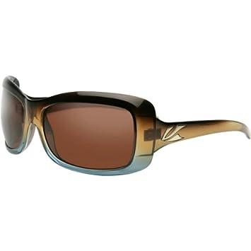 5988d6e389 Kaenon Georgia Women s Polarized Lifestyle Outdoor Sunglasses Eyewear -  Tobacco Denim Fade Copper 12   One Size Fits All