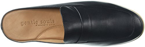 Douce Âmes Womens Everett Backless Slip Sur Mocassin Mule Noir
