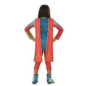 - 31anNj2IuzL - Girls Marvel Rising Secret Warriors Ms. Marvel Costume