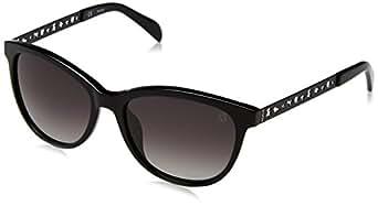 Tous STO919-540700, Gafas de sol para Mujer, Shiny Black 54