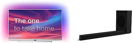 Televisor Philips Ambilight 43PUS7304/12 Smart TV + Barra de Sonido para TV Philips HTL3320/10: Amazon.es: Electrónica