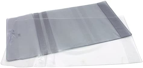 Vista-Gloves Slip-On Book Covers - Fits Up To 11 1/8 Inch H Book - 10 Pack