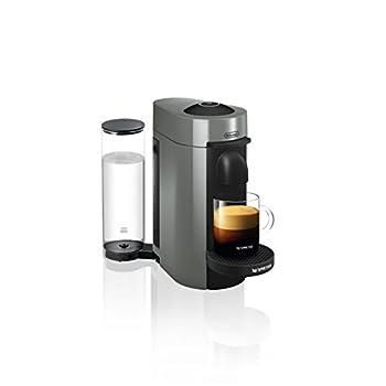 Nespresso by De'Longhi ENV150GY VertuoPlus Coffee and Espresso Machine by De'Longhi, 5.6 x 16.2 x 12.8 Inches, Graphite Metal