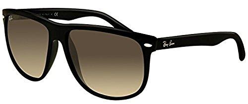 Ray-Ban RB 4147 Sunglasses Black / Crystal Grey Gradient 60mm & HDO Cleaning Carekit Bundle (4147 Rayban Rb)