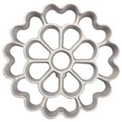 Kitchen Supply 7140 2-in-1 Spanish Rosette -