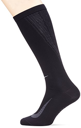 Nike Elite Running Lightweight Over the Calf Black/Anthracite/Anthracite Knee High