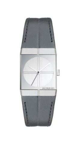 Jacob Jensen 242 Ladies Icon Grey White Watch