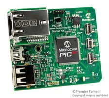 Starter Kit, PIC32Mz Connectivity, 32-bit MCU, On-board Crystal, 3.3V Power Supply by MICROCHIP