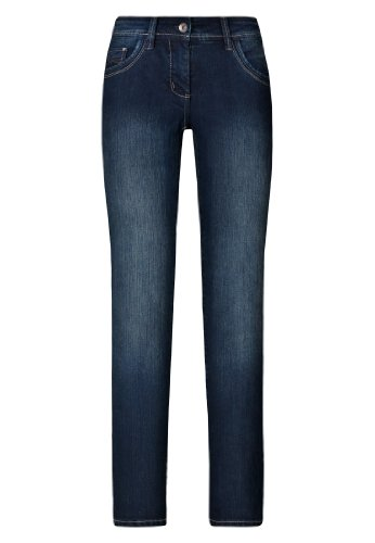 jeans VICTORIA X push BASIC Dark up Million Femme Blue qawRfR6