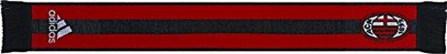 adidas AC Milan Fan Scarf, Red/Black