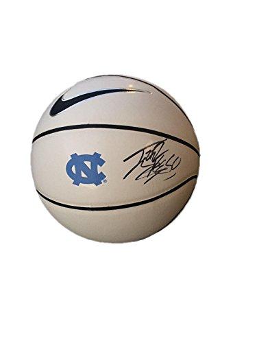 Carolina Tyler Hansbrough Basketball North - Tyler Hansbrough Unc North Carolina Tar Heels Signed Nike Logo Basketball - JSA Certified - Autographed College Basketballs