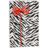 Zebra Stripes Gift Wrap 15 Foot Roll Wrapping Paper