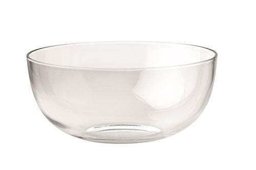 "Barski - European - Glass - Large Serving Bowl - Salad Bowl - Mixing Bowl - 11.75"" D - 220 oz. - Made in Europe"