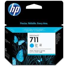 Ink Cartridge, 29 ml, 3/PK, Cyan, Sold as 1 Package - Hewlett-Packard Ink Cartridge, 29 ml, 3/PK, Cyan by HP