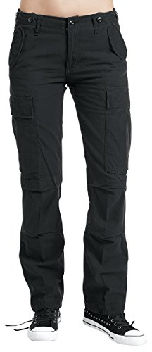 Brandit M65 Ladies Trousers Girl-Hose schwarz W30L34