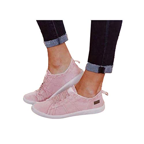 Dressin Walking Shoes for Women Loafers Slip On Flats Shoes Tennis Trainer Athletic Running Shoes Lace Up Sneakers