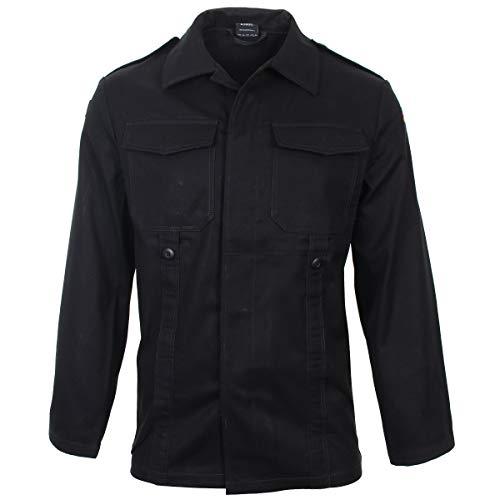 Mil-Tec BW Moleskin Jacket Black size L Reg (8) ()