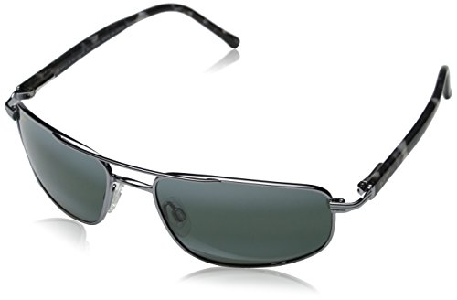 Maui Jim Kahuna Sunglasses,Gunmetal Frame/Neutral Grey Lens,one - Hut Jim Sunglass Maui