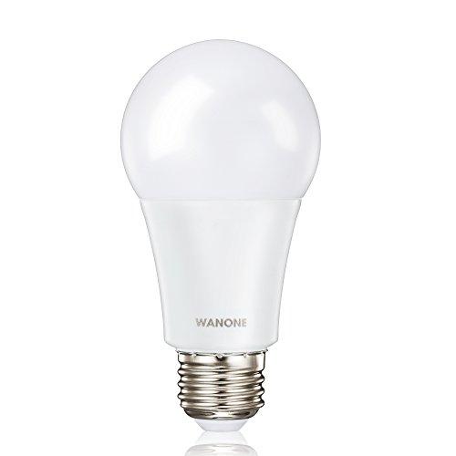 LED Bulb, 9W (60W equivalent), 3000K (Soft White Glow), Dimmable, Wide Flood Light Bulb, 220° Beam Angle, Medium Base (E26), Energy Star Certified, UL-Listed (Intermediate Screw E17 Base Miniature)