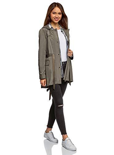 Donna Tagli Nero Ginocchia Sulle Ultra Oodji 2900w Jeans Con Skinny qTanF85