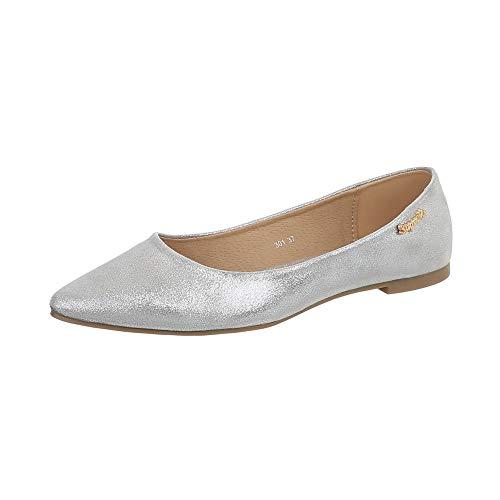 Femme Danse Classique Ital Grau Silber design Own5qgt1