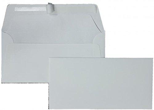 Briefhüllen   Premium   110 x 220 mm (DIN Lang) Weiß (100 Stück) mit Abziehstreifen   Briefhüllen, KuGrüns, CouGrüns, Umschläge mit 2 Jahren Zufriedenheitsgarantie B00H53Q5W2 | Fuxin