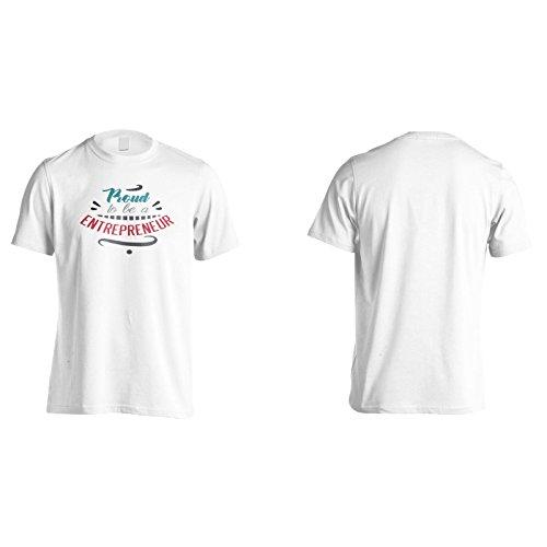 Stolz, Unternehmer Zu Sein Herren T-Shirt n729m