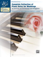 (Alfred Wedding Performer Complete Collection of Piano Solos for Weddings Book )