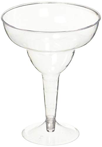 Clear 10oz Margarita Glasses,