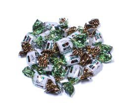 Arcor Chocolate Filled Mint Twists Hard Candies 6 Lb Bag (Chocolate Filled Mints)