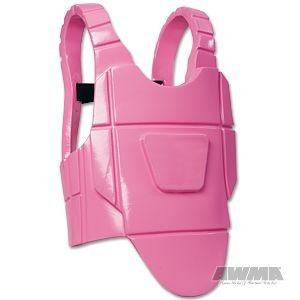 ProForce Velocity Chest Guard - Pink - Medium by ProForce