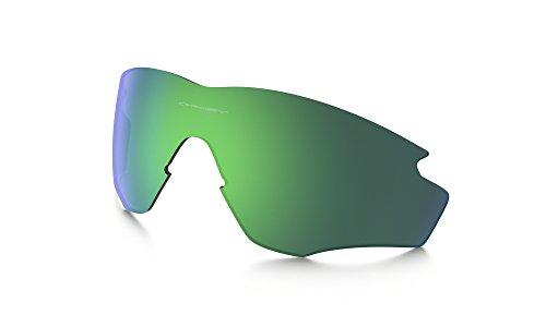 Oakley M2 XL Replacement Lenses Jade Iridium & Cleaning Kit - Iridium Jade Lenses