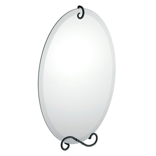 Moen DN4992BK Sienna Mirror, Matte Black