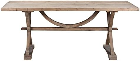 Burnham Home Aldridge Dining Table, Natural
