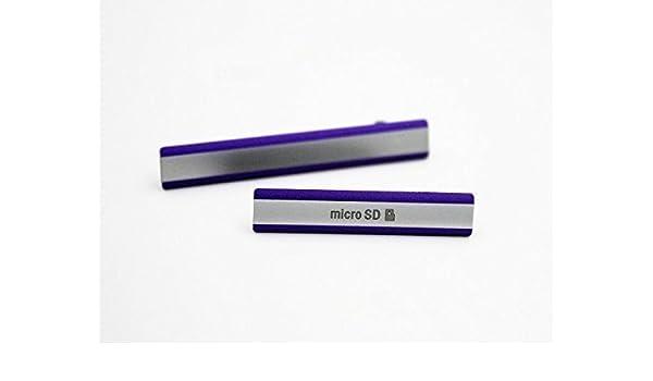 Micro SD Puerto enchufe + Micro USB Slot/tarjeta SIM puerto ...