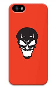 Hot iPhone 5S 3D Customized Unique Print Design Skulls Set4 New Fashion iPhone 5/5S Cases