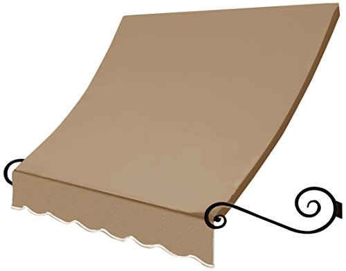 Awntech 8-Feet Charleston Window/Entry Awning, 44 by 24-Inch, Linen ()
