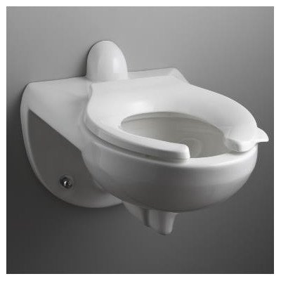 Kingston Toilet Bowl with Rear Spud in White