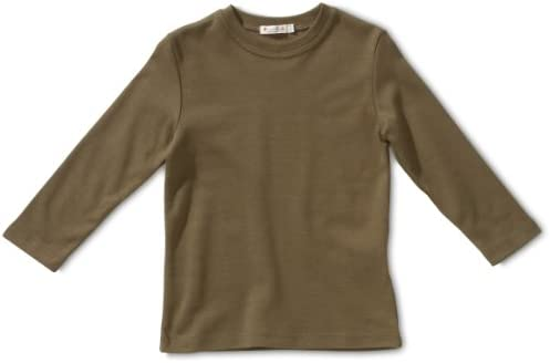 Lana naturalwear - Camisa para niño verde de 100% algodón, talla: 86/92cm (18-3 años): Amazon.es: Bebé