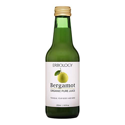 Organic Bergamot Juice 8.5 fl oz - Calms Body and Mind - Rich in Bio-Active Flavonoids and Vitamin C - Bergamot Oil Naturally Occurring - Premium Food Grade