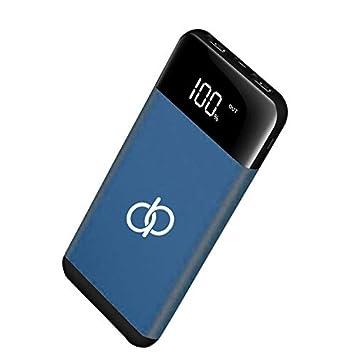 A&B Cargador portátil 20000 mAh, batería Externa Slimline/Ultra Alta Capacidad con Pantalla LED, Paquete de batería/USB Adecuado: ...