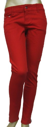 Living-Dead-Souls-Womens-SKINNY-TROUSER-WITH-ZIPPER-AT-ANKLE-Assorted-Colors