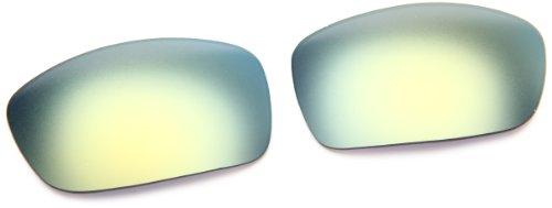 Oakley Fives 3.0 16-426 Iridium Rimless Sunglasses,Multi Frame/Emerald Lens,One Size
