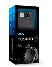 GoPro Fusion Actioncam (360 graden fotoserieopname met 18 MP/30 fps)
