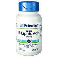 - Life Extension Super R-Lipoic Acid, 240mg, Vegetarian Capsules, 60 ea - 2pc